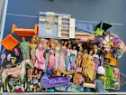 Barbie Doll Lot Accessories Vintage Playset Clothes Furniture