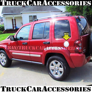 For JEEP Liberty 2002 2003 2004 2005 2006 2007 Chrome Gas Fuel Door Cover 1PC