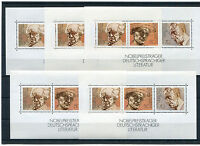 5 x Bund Nr. Block 16 postfrisch BRD 959 - 961 Block Sammlung Nobelpreis MNH