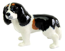 Miniature Porcelain, Cavalier King Charles Spaniel Tri colour