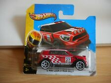 Hotwheels '12 Mini COuntryman Rally in Red on Blister