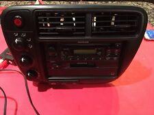 99 00 HONDA CIVIC OEM CLIMATE CONTROL CD RADIO DASH TRIM BEZEL VENTS  EX LX SI