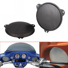 2x Replacement Mesh Speaker Grill For Harley Street Glide Special FLHXS FLHX
