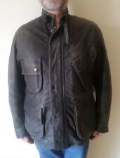 Barbour International Leather Jacket limited edition panther