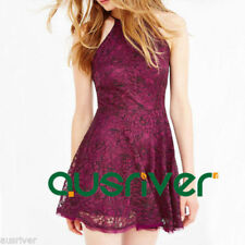 Lace Backless Dresses for Women