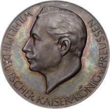 Brandenburg-Preußen - Wilhelm II. 1888-1918 - Silbermedaille 1914 (Lauer)