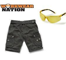 Pantalones cortos de hombre gris