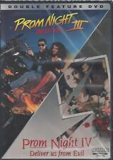 PROM NIGHT III/PROM NIGHT IV Double Feature  TIM Conlon, Cynthia Preston NEW DVD