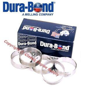 New F9A DuraBond Cam Bearing Set Ford 239 256 272 292 312 Grooved # 3 Journal