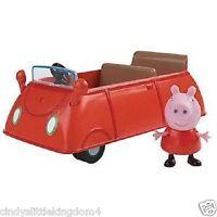 Peppa Pig Pequeño Vehículo Coche Con Figura Playset de Juguete 3+