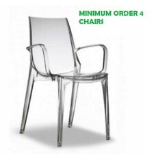 VANITY polypropylene chair. Transparent.SCAB DESIGN Suitable for bar, restaurant