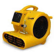 Zoom 1/3 HP Air Dryer Fan Three Speed Carpet Janitorial Water Damage Restoration