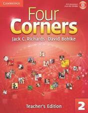 Four Corners Level 2 Teacher's Edition with Assessment Audio CD/CD-ROM by Jack C