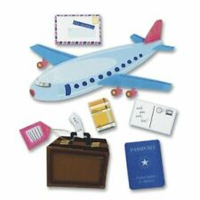 Jolee's Boutique Dimensional Stickers-Airplane Travel, SPJB-200