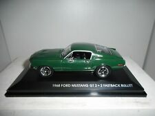 FORD MUSTANG GT 2+2 FASTBACK 1968 BULLIT ROAD SIGNATURE 1:43