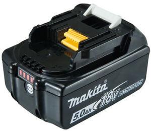 Makita Original Ersatz Akku BL1850B 18 V 5,0 AH Li-Ion LED BL1850 NEU 197280-8