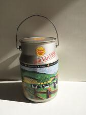 Grande boîte publicitaire en tôle Sucettes CHUPA CHUPS  en forme de pot à lait