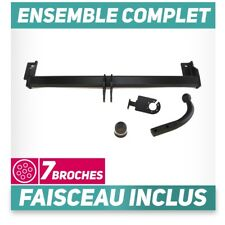 Attelage rigide Toyota RAV4 3/5P Hayon 00-06 +faisceau 7 broches