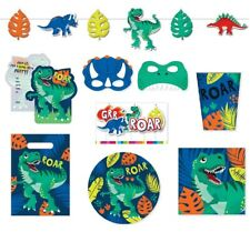 Dino Dinosaur Party Supplies Tableware Plates Napkins Party Bags Cups Decoration