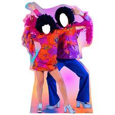 DISCO DANCERS 70s Nightclub Stand-In CARDBOARD CUTOUT Standin Standup Standee