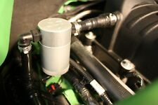 2011-2014 Ford Mustang JLT Oil Separator Passenger Side Silver GT Superchaged