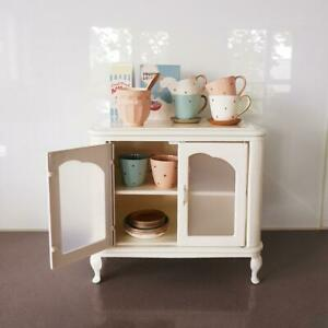 Cupboard, cups and bowls set for Barbie Maileg Blythe