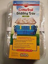 * New 3 Pack Kaytee Critter Trail Medium Bedding Tray Habitat hampster mouse rat