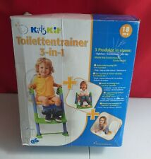 Kids kit 3 in 1 Toilet Trainer - Step up Potty, seat reducer,  Multicoloured NEW