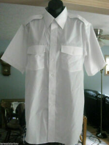 Edwards Women shirt white navigator short sleeve XS small medium large XL NEW