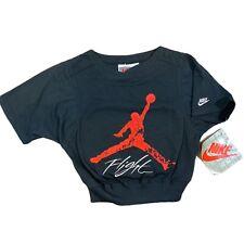 Vintage Nike Jordan Flight Boys Size M 5/6 Embroidered Sweater Sweatshirt NWT