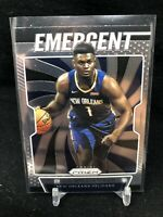 Zion Williamson PANINI PRIZM HOT ROOKIE 2019-20 EMERGENT INSERT RC #7 - A11