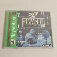 Playstation 1 (PS1) WWF Smackdown! w/ Manual
