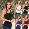 Fashion Summer Womens Casual Tank Tops Vest Blouse Sleeveless Crop Tops Shirt wl