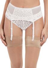 Freya Soiree Lace Suspender Belt Garter Suspender 5019 White Various Sizes New