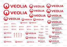 1:50 truck lorry cab Trailer code 3 Decals transfers corgi,WSI,Tekno Veolia