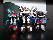 Transformers Henkei Smokescreen Prowl and Universe Silverstreak Complete Lot