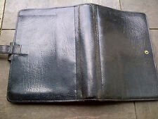"FILOFAX ""WINCHESTER"" BLUE CALF LEATHER PERSONAL ORGANISER "" RARE"" WOW  LOOOOK"