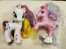 My Little Pony glitter glide and rarity