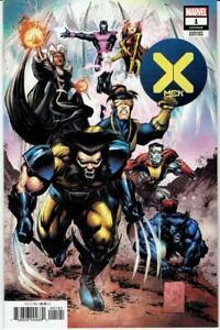 X-Men 1 Portacio 1:25 Variant Marvel Comics 2019 NM 9.6