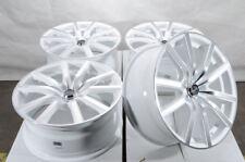 18x8 5x114.3 White Wheels Fits Civic Nissan Sentra Optima Rogue Quest 5 Lug Rims