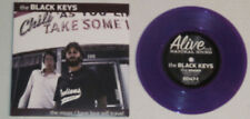 "BLACK KEYS-THE MOAN & HAVE LOVE WILL TRAVEL 7"" W/PICTURE SLEEVE-PURPLE VINYL"