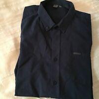Firetrap Men's Navy shirt. Size L 17 Inch Collar. Worn Once