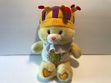 """Care Bears King Funshine Plush Hasbro Doll Stuffed 14"""" Toys Cartoons Jester Hat"""