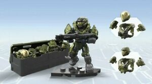 HALO FIGURE #1 FROM Mega Construx Halo UNSC Spartan III Customizer  GLB76