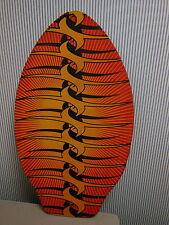 """Vintage Lagenholz sahnt Board Surf Cruiser Boogie Board, Dekor 33"""" x 19 1/2"""""""
