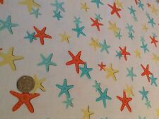 Michael Miller A Sea of Stars Beach Seaside Cotton Quilting Fabric FQ 50cmx 54cm