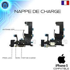 Connecteur de charge iPhone 5 Nappe Dock Micro Prise Jack Antenne Noir Blanc
