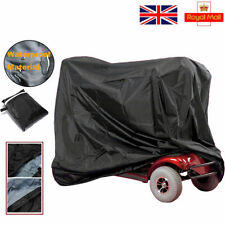 Mobility Scooter UK Tiller Rain Cover Wheelchair Waterproof Storage Dust Cover