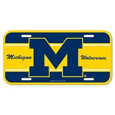 Michigan Wolverines License Plate