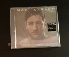 CD ALBUM - MATT CARDLE - TIME TO BE ALIVE - NEW AND SEALED